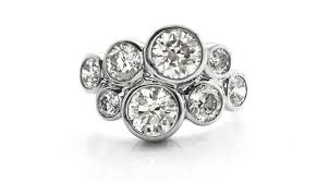 Modern Ring Designs Ideas R6d001 Six Stone Contemporary Diamond Ring A Simple And Elegant