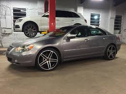 acura rl acura rl with gianelle wheels no limit inc
