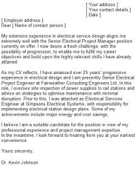 marine electrical engineer cover letter