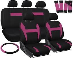 pink nissan altima car seat covers for nissan altima pink black steering wheel belt