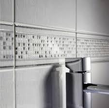 White And Green Bathroom - border tiles for bathroom walls e causes