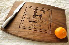 engraved wedding gift personalized cutting board custom cutting board personalized wedding