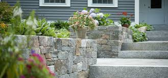 native plantings bedford landscaping landscape design stone blossom landscape