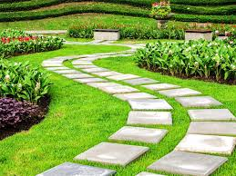 front yard garden ideas easy care evergreen entryway design with