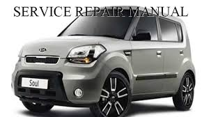kia soul 2009 2010 2011 repair manual youtube