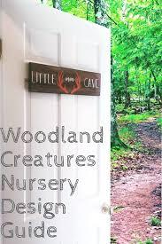 woodland creatures nursery decor for baby boy or u2014 first