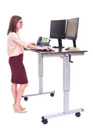 l shaped standing desk computer table adjustable standing desk converter for computer