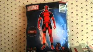 costume for halloween party city deadpool morphsuit party suit youtube