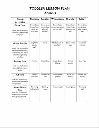 weekly lesson plan template preschool templatesz234