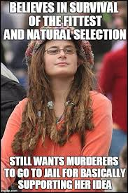 Survival Memes - college liberal meme imgflip