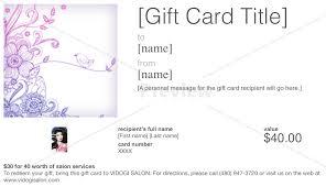 salon gift card gift cards scottsdale salon