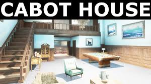 Home Design Exterior And Interior Fallout 4 All Companions Comments Cabot House Exterior And