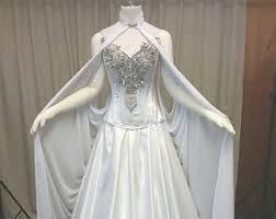 elvish style wedding dresses elven dress etsy