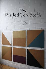 38 how to paint cork tiles on walls memobord trones cabinet space
