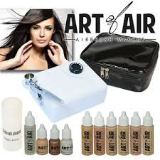 professional airbrush makeup system of air professional airbrush cosmetic makeup kit fair to