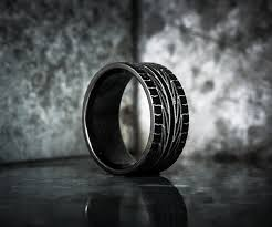 tire wedding ring giveaway tire tread rings dudeiwantthat