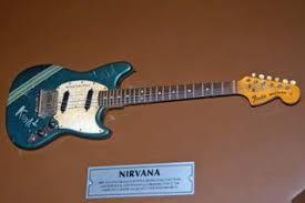 mustangs the rock kurt cobain s guitars now two mustangs rock not kurts