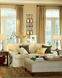 round mirror on the wall between frame decor classic living room