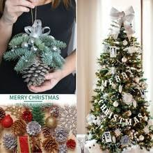 Christmas Decorations Cheap by Popular Pinecone Christmas Decorations Buy Cheap Pinecone