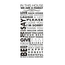 Family House Rules by 360dsc House Rules In This House We Are A Family Love Each Other