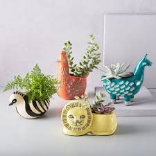 Animal Planter | ceramic animal planters west elm