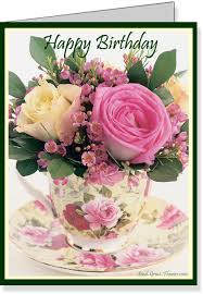 free birthday e cards card invitation design ideas free printable teacup roses birthday