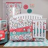 Toy Story Crib Bedding Amazon Com Babyfad Damask Turquoise 10 Piece Baby Crib Bedding