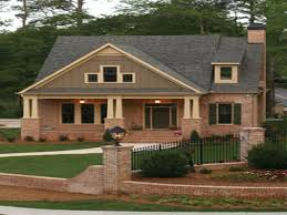 Craftsman Style Homes Plans Brick Craftsman Style House Plans Home Act