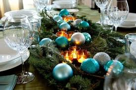 diy christmas candle centerpiece dining table runner evergreens