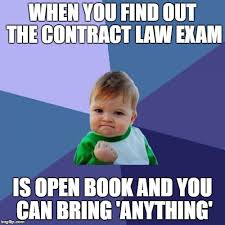 Contract Law Meme - success kid meme imgflip