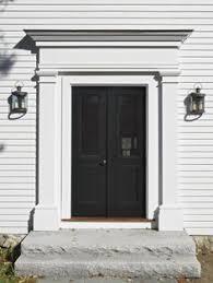 Exterior Door Pediment And Pilasters by Center Hall Colonial Front Door Google Search Front Door