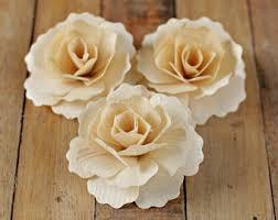 wood flowers wooden flowers etsy