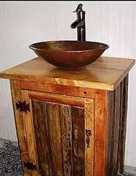 rustic log bathroom vanity ms1373 25 faucet