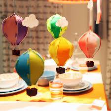 Home Balloon Decoration Aliexpress Com Buy Colorful 3d Felt Air Balloon Decoration