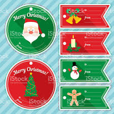 christmas gift tag design set stock vector art 626812690 istock