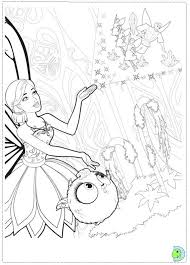 barbie mariposa and the fairy princess coloring page dinokids org
