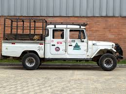 white toyota truck land cruisers for restoration the fj company