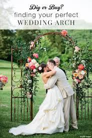 wedding arch no flowers best 25 diy wedding arch ideas ideas on