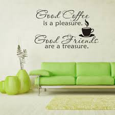 2016 new all kinds coffee quote laptop stickers hp wall home