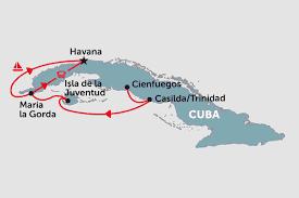 Havana On Map Cuban Panorama Cruising Cienfuegos To Havana Cuba Tours