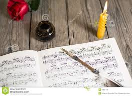 paper writing music sheet music stock photography image 35837112 music