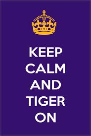lsu alumni sticker keep calm and tiger on lsu tigers bumper sticker by stickertiger