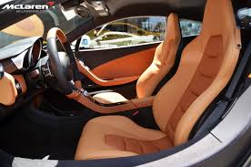orange mclaren interior white mp4 12c with two tone tan interior mclaren life