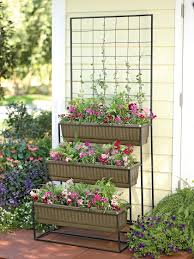 3 tier self watering cascade planter with trellis buy from