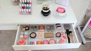 ikea micke desk makeup storage garage for make up helmer perky new