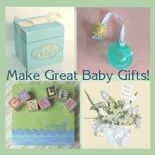 handmade baby items shower crafts