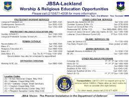 Lackland Afb Map Joint Base San Antonio U003e Resources U003e Chaplain Services U003e Jbsa