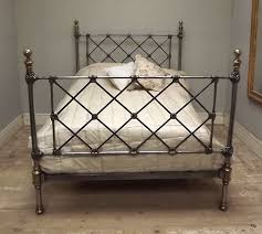 Brass Double Bed Frame Ibjc133 Superb Antique Brass And Cast Double Bed
