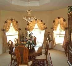 dining room with curtain ideas make wonderful your dining room