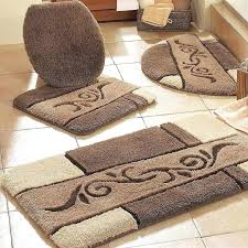 Gold Bathroom Rug Sets Contour Bathroom Rug 3 Bathroom Mat Sets Contour Bath Rug